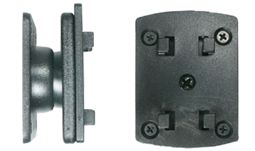 Brodit Halter 215058 mit Kugelgelenk und Richteradapter (passiv)