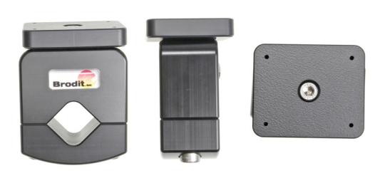 Brodit Zubehör 215664 für DAF CF / DAF LF / Volvo FM Serie  (Rohr-Befestigung mit Montageplatte)