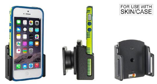 Brodit Gerätehalter 511428 für Apple iPhone 5 / 5C / 5S / SE (Passiv mit Kugelgelenk)
