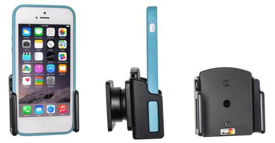 Brodit Gerätehalter 511430 für Apple iPhone 5 / 5C / 5S / SE (Passiv mit Kugelgelenk)