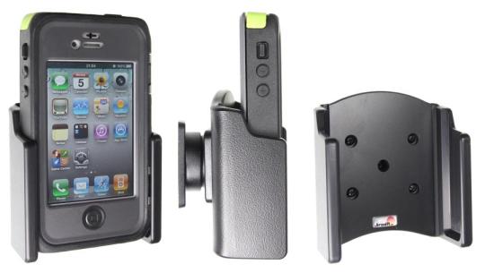 Brodit Gerätehalter 511511 für Apple iPhone 4 / Apple iPhone 4S (Passiv mit Kugelgelenk)