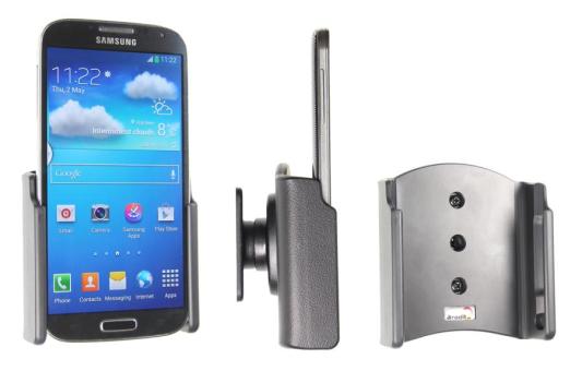 Brodit Gerätehalter 511526 für Samsung Galaxy S4 GT-I9505 / GT-I9506 (Passiv mit Kugelgelenk)