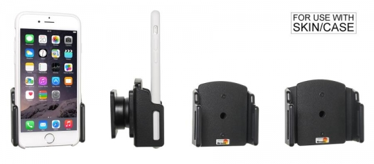 Brodit Gerätehalter 511666 für Apple iPhone 6 / 6S / 7 / 8 / X / Xs  (passiv mit Kugelgelenk)
