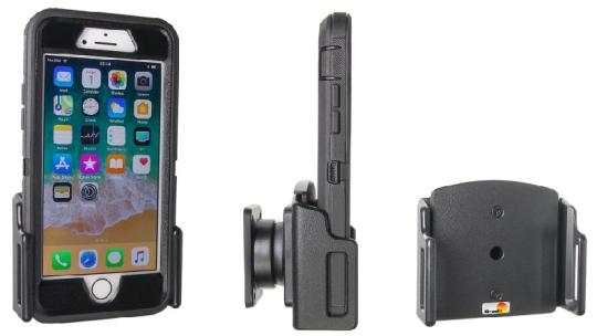 Brodit Gerätehalter 511688 für Apple iPhone 6 / 6 Plus / 6S / 6S Plus / 7 / 7Plus / 8 / 8 Plus / X / Xs / Xs Max / XR / 11 / SE 2.Gen 2020 (passiv mit Kugelgelenk)