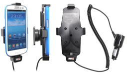Brodit Gerätehalter 512409 für Samsung Galaxy S III i9300 / S III i9305 / S4 GT-I9505 / S4 GT-I9506 (Aktiv mit Zigarettenanzünderanschluß)