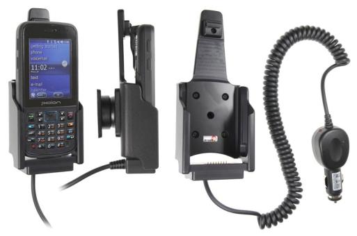 Brodit Gerätehalter 512508 für Pidion HM 40 / HM 45 (Aktiv mit Zigarettenanzünderanschluß)