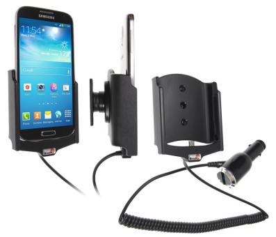 Brodit Gerätehalter 512526 für Samsung Galaxy S4 GT-I9505 / GT-I9506 (Aktiv mit Zigarettenanzünderanschluß)