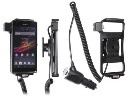 Brodit Gerätehalter 512533 für Sony Xperia SP (Aktiv mit Zigarettenanzünderanschluß)