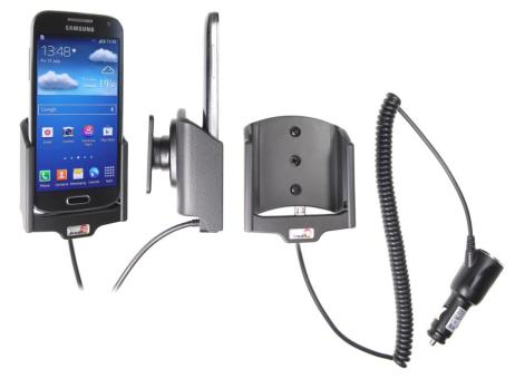 Brodit Gerätehalter 512544 für Samsung Galaxy S4 Mini GT-I9195 (Aktiv mit Zigarettenanzünderanschluß)