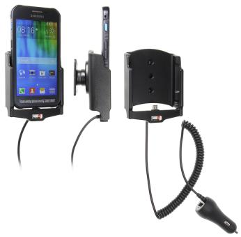 Brodit Gerätehalter 512736 für Samsung Galaxy Xcover 3 (aktiv mit Zigarettenanzünderanschluß)