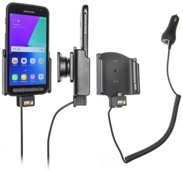 Brodit Gerätehalter 512958 für Samsung Galaxy Xcover 4 (aktiv mit Zigarettenanzünderanschluß)