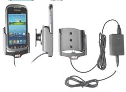 Brodit Gerätehalter 513507 für Samsung Galaxy Xcover 2 / Samsung S7710 (Aktiv mit Molexanschluß)