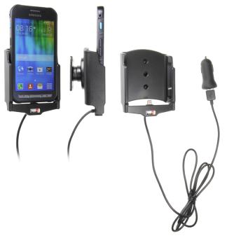 Brodit Gerätehalter 521736 für Samsung Galaxy Xcover 3 (aktiv mit Zigarettenanzünderanschluß und USB-Stecker)