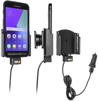 Brodit Gerätehalter 521958 für Samsung Galaxy Xcover 4 (aktiv mit Zigarettenanzünderanschluß und USB-Stecker)