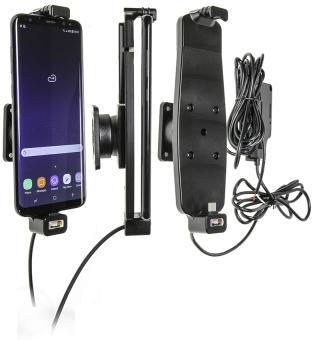 Brodit Gerätehalter 527965 für Samsung Galaxy S8+ / S9+ / S10+ (Aktiv für Festanschluß)