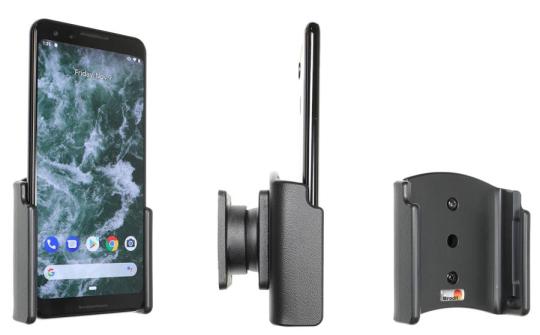 Brodit Gerätehalter 711088 für Google Pixel 3 (passiv mit Kugelgelenk)