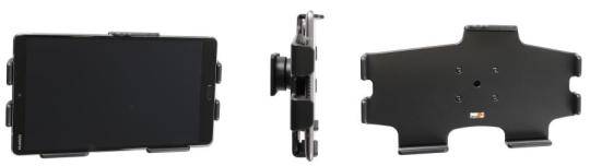 Brodit Gerätehalter 711114 für Huawei MediaPad M5 (passiv mit Kugelgelenk)
