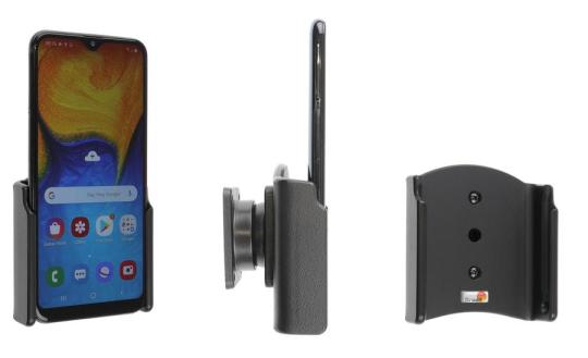 Brodit Gerätehalter 711140 für Samsung Galaxy A20e (SM-A202) (passiv mit Kugelgelenk)