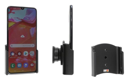Brodit Gerätehalter 711143 für Samsung Galaxy A70 (SM-A705) (passiv mit Kugelgelenk)