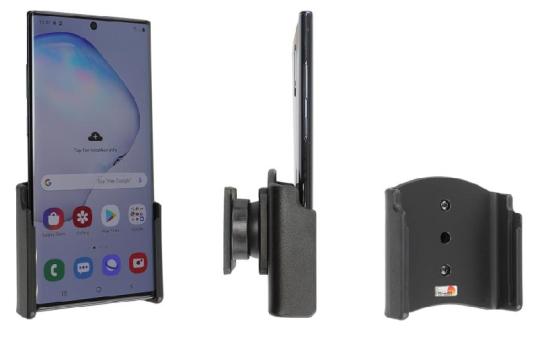 Brodit Gerätehalter 711156 für Samsung Galaxy Note 10+ 5G / Note 10+ SM-N975 (passiv mit Kugelgelenk)