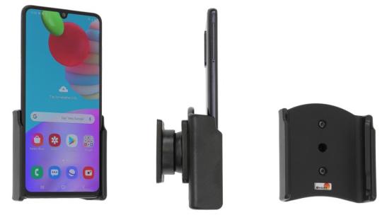 Brodit Gerätehalter 711220 für Samsung Galaxy A41 (SM-A415F) (passiv mit Kugelgelenk)