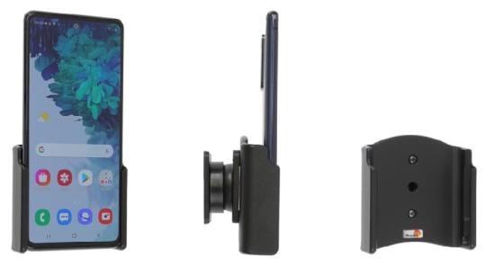 Brodit Gerätehalter 711240 für Samsung Galaxy S20 FE (SM-G780/SM-G781) (passiv mit Kugelgelenk)