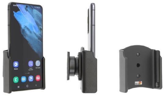 Brodit Gerätehalter 711244 für Samsung Galaxy S21 5 G SM-G991B/SM-G991B/DS (passiv mit Kugelgelenk)