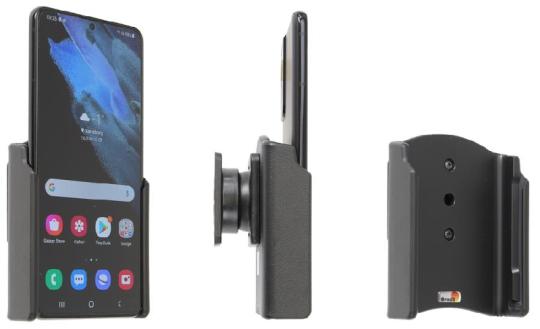 Brodit Gerätehalter 711245 für Samsung Galaxy S21+ 5G (SM-G996B/SM-G996B/DS) (passiv mit Kugelgelenk)