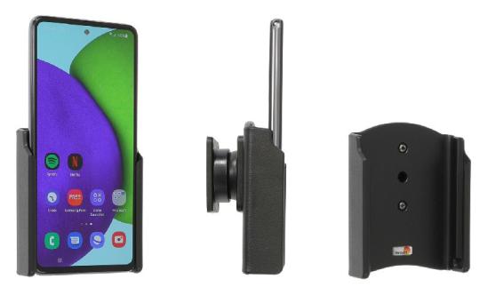 Brodit Gerätehalter 711256 für Samsung Galaxy A52 SM-A52F/DS (passiv mit Kugelgelenk)