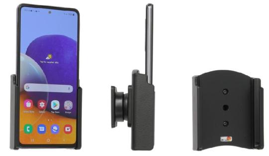 Brodit Gerätehalter 711257 für Samsung Galaxy A72 SM-A725F/DS (passiv mit Kugelgelenk)