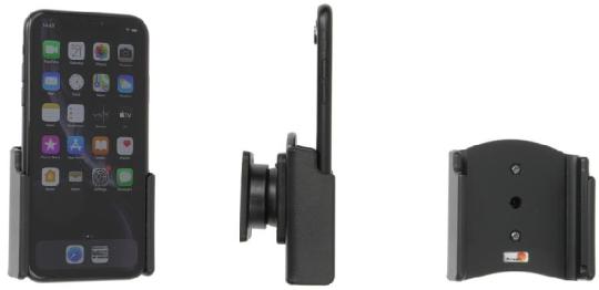 Brodit Gerätehalter 711265 für Apple iPhone 11 / iPhone XR (passiv mit Kugelgelenk)