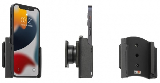 Brodit Gerätehalter 711275 für Apple iPhone 13 Mini (passiv mit Kugelgelenk)