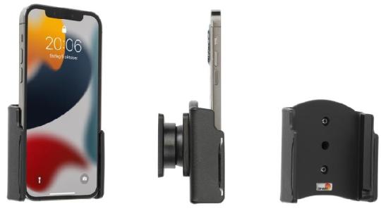 Brodit Gerätehalter 711276 für Apple iPhone 13 / iPhone 13 Pro (passiv mit Kugelgelenk)