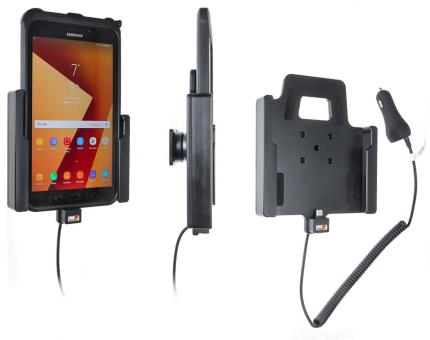 Brodit Gerätehalter 712002 für Samsung Galaxy Tab Active 2 (SM-T390 / SM-T395) (aktiv mit Zigarettenanzünderanschluß)