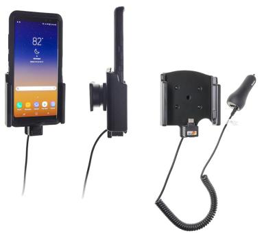 Brodit Gerätehalter 712021 für Samsung Galaxy Note 8 (aktiv mit Zigarettenanzünderanschluß)