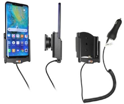 Brodit Gerätehalter 712096 für Huawei Mate 20 Pro (aktiv mit Zigarettenanzünderanschluß)