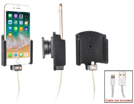 Brodit Gerätehalter 714009 für Apple iPhone 8 (Mit Steckervorbereitung (ohne Kabel))