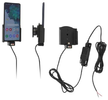 Brodit Gerätehalter 727240 für Samsung Galaxy S20 FE (SM-G780/SM-G781) (Aktiv für Festanschluß)
