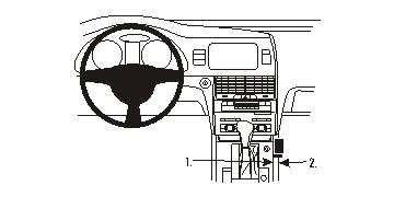Brodit ProClip 833814 für Audi Q7