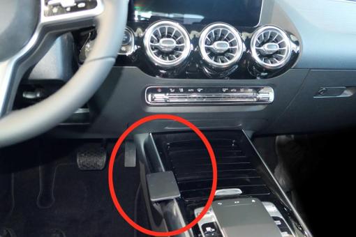 Brodit ProClip 835496 für Mercedes Benz B-Klasse