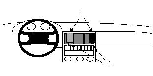 Brodit ProClip 851947 für Audi 80 / 90 / Cabrio / Coupé / Quattro