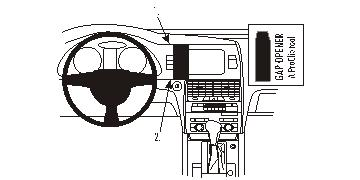 Brodit ProClip 853812 für Audi Q7