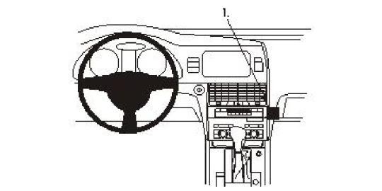 Brodit ProClip 853813 für Audi Q7