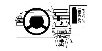 Brodit ProClip 854127 für Citroen C4