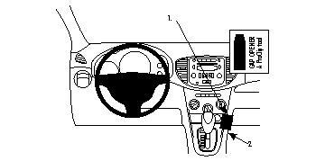 Brodit ProClip 854184 für Hyundai i10
