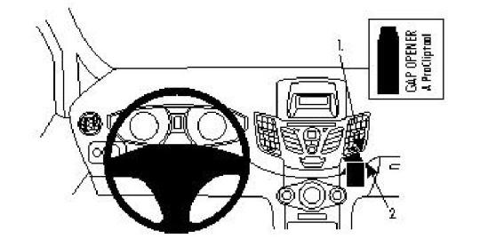 Brodit ProClip 854252 für Ford Fiesta