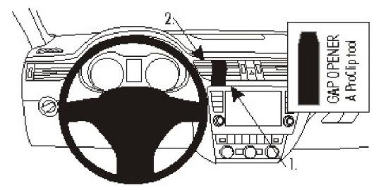 Brodit ProClip 854885 für Skoda Octavia III