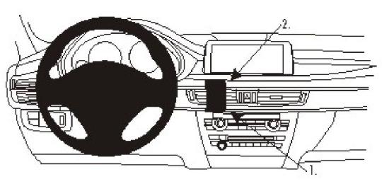 Brodit ProClip 854979 für BMW X5 / X6