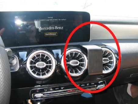 Brodit ProClip 855423 für Mercedes Benz A-Klasse