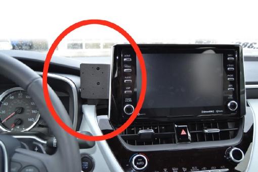Brodit ProClip 855453 für Toyota Corolla